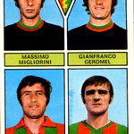 1971-72. Figurine Panini. Migliorini-Geromel-Pandrin-Benatti