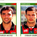 1998-99. Figurine Panini. Miccoli-Grabbi