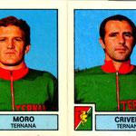 1975-76. Figurine Panini. Moro-Crivelli