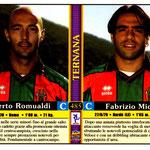 2000-01. Figurine. Romualdi-Miccoli