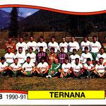 1990-91. Figurine Panini. Squadra