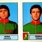 1975-76. Figurine Panini. Rosa-Ferrari