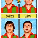 1971-72. Figurine Panini. Cardillo-Cucchi-Zeli-Russo