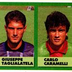 1992-93. Figurine Vallardi. Taglialatela-Caramelli