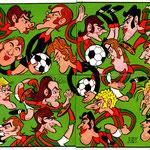 1972-73. Figurine Panini. Caricature