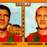 1969-70. Figurine Panini. Cardillo-Meregalli