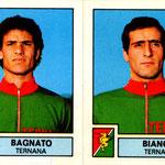 1975-76. Figurine Panini. Bagnato-Bianchi