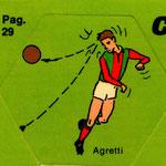 1972-73. Figurine EDISPORT. Agretti