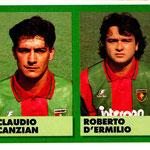 1992-93. Figurine Vallardi. Canzian-D'Ermilio