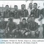 1949-50. Squadra (dal libro TRA STORIA E LEGGENDA di Armadori)