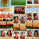 1998-99. Figurine Panini. Pagina dell'album