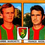 1969-70. Figurine EDIS. Marchetti-Nicolini