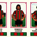1978-79. Figurine Panini. Caccia-Casone-Passalacqua