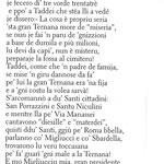 1986. Poesia di Otello Aquili (Lello de Menicandò) (dal libro ''NA CORVA DE RIME'')