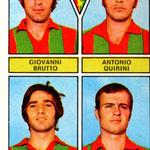 1971-72. Figurine Panini. Brutto-Quirini-Jacolino-Marchetti