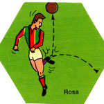 1972-73. Figurine EDISPORT. Rosa