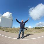 Kuppel des 2,2m Teleskopes