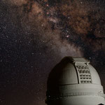 Kuppel des 3.5m Teleskopes