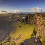 Steilküste bei Dyrholaey