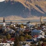 Reykjavik- Ausblick von Perlan