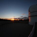Sonnenuntergang am Calar-Alto