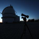 Kuppel des 1,23m Teleskopes