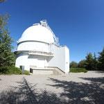 Kuppel der Schmidt-Kamera