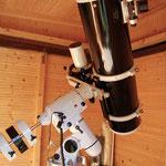 Newton 200/1000mm auf NEQ6