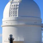 Kuppel des 3,5m Teleskopes
