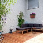 Terrasse zum Wohlfühlen