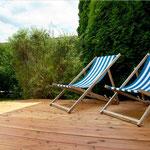 Entspannen auf der Terrasse