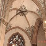 Detail Gewölbe nach erfolgter Reinigungsanleitung.