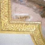Detailfoto Signatur C. Wiederhold