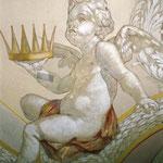Detailfoto Engeldarstellung nach erfolgter Restaurierung