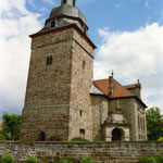 Ev. Kirche Balhorn / Konservierung / Restaurierung der Raumschale