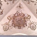 Renaissance-Gewölbemalerei nach der Restaurierung.