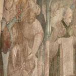 Detailfoto nach erfolgter Restaurierung Reinigung-Festigung-Retusche