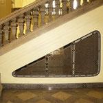 Detailfoto Endzustand; Treppenhaus im Erdgeschoss
