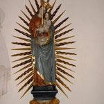Strahlenkranz-Madonna mit Wandkonsole im Nordquerhaus