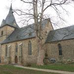 Außenansicht der Kirche von Südosten