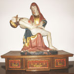 Die Pieta im Turmraum, nach der Restaurierung.