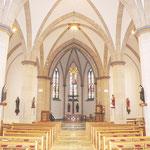 Kirchenraum. Gesamtansicht.