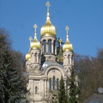 Russisch Orthodoxe Kirche auf dem Neroberg in Wiesbaden