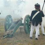 Artillerie feuert Foto B.Gersöne