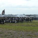 Battalion in Kolonne  Foto B.Gersöne