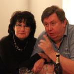Helmut Albrecht (Unternehmer Heizungstechnik) mit Lebenspartnerin Uta Foto Ralf Hiller