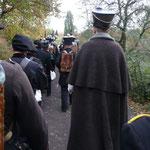 Auf dem Marsch Foto B.Gersöne