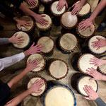 Gemeinsam in den Rhythmus kommen