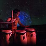 """""""Kir Shajak, Flashing Drums & Music"""" • Yngo Gutmann in Concert • Neues Schauspiel Leipzig • 2011"""