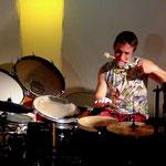 """""""Da ist ein Licht"""" • Konzert mit Yngo Gutmann • Trommelschule Leipzig 2015"""
